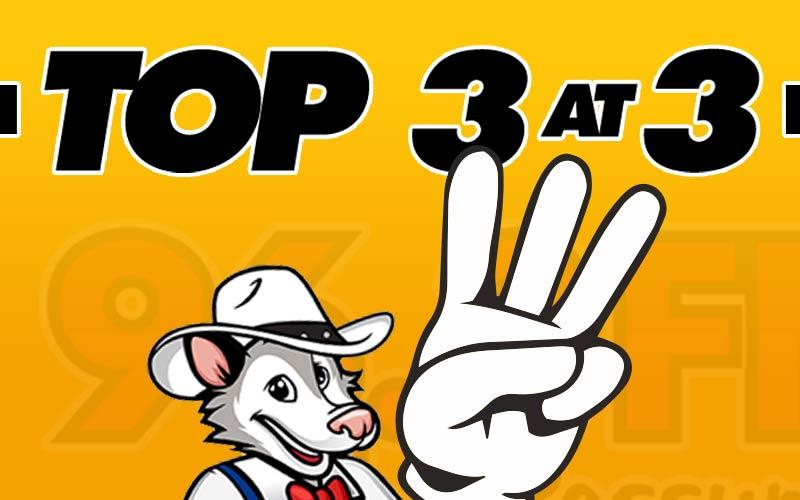 Top 3 at 3